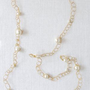 Crochet pearl