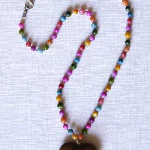Sweetheart multi-colour stone