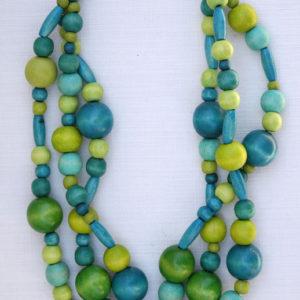 Jewel turquoise & green