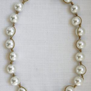 Casual pearl cream