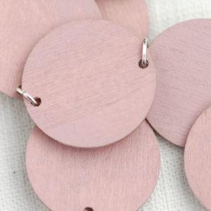 Dots Rose Pink Close Up