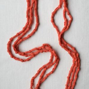Knots long orange